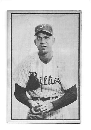 1953 Bowman Black and White #64 Andy Hansen