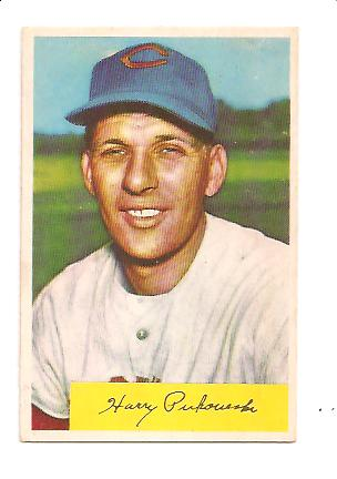 1954 Bowman #44 Harry Perkowski