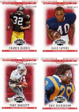 2007 Topps Triple Threads #86 Eric Dickerson