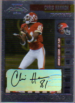 2006 Playoff Contenders #230 Chris Hannon AU RC