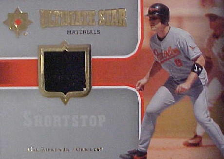 2007 Ultimate Collection Ultimate Star Materials #CR2 Cal Ripken Jr.