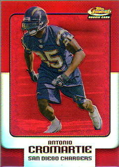 2006 Finest Refractors #148 Antonio Cromartie