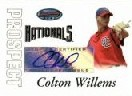 2007 Bowman's Best Prospects #BBP50 Colton Willems AU