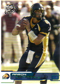2005 Press Pass Blue #B9 Aaron Rodgers