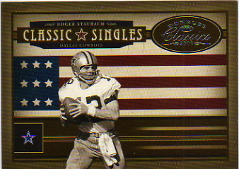 2005 Donruss Classics Classic Singles Silver #18 Roger Staubach