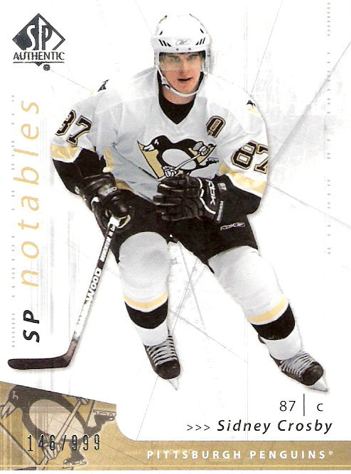 2006-07 SP Authentic #155 Sidney Crosby N