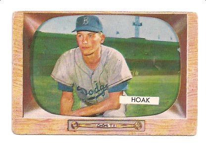 1955 Bowman #21 Don Hoak