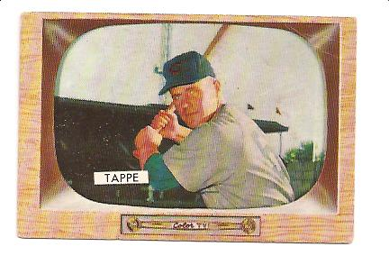 1955 Bowman #51 Elvin Tappe RC