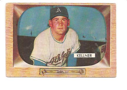 1955 Bowman #53 Alex Kellner