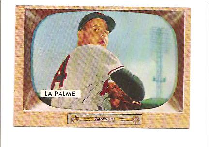 1955 Bowman #61 Paul LaPalme