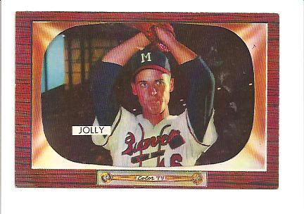 1955 Bowman #71 Dave Jolly