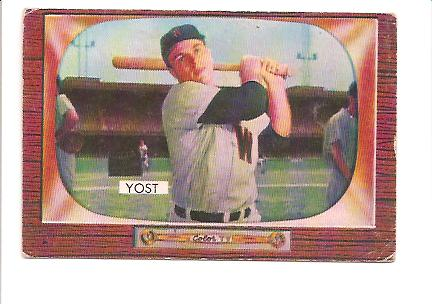 1955 Bowman #73 Eddie Yost