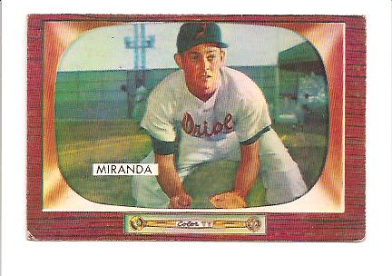 1955 Bowman #79 Willie Miranda