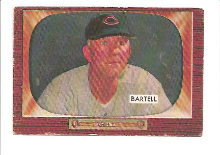 1955 Bowman #234 Dick Bartell CO