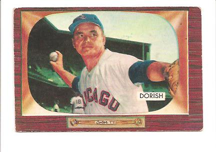 1955 Bowman #248 Harry Dorish