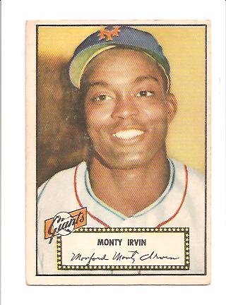 1952 Topps #26 Monte Irvin