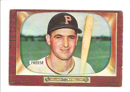 1955 Bowman #84 George Freese RC
