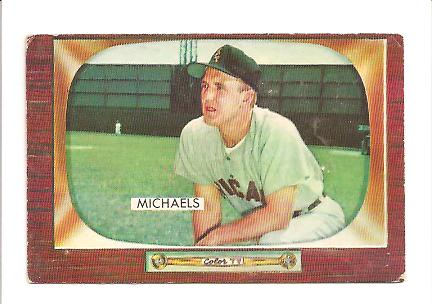 1955 Bowman #85 Cass Michaels