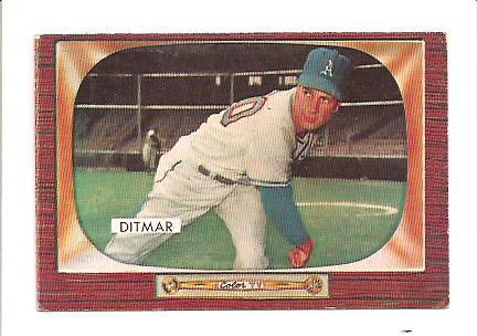 1955 Bowman #90 Art Ditmar RC