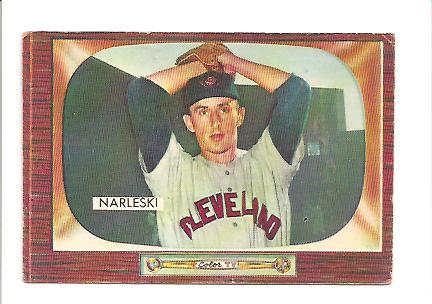 1955 Bowman #96 Ray Narleski RC