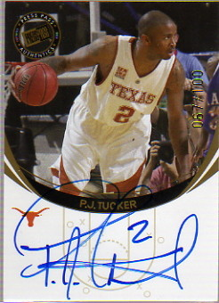 2006 Press Pass Autographs Gold #53 P.J. Tucker