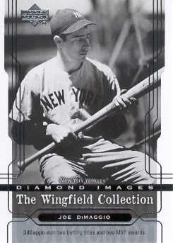 2005 Upper Deck Wingfield Collection #3 Joe DiMaggio