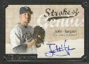 2007 UD Masterpieces Stroke of Genius Signatures #HA Justin Hampson