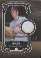 2007 SP Legendary Cuts Masterful Materials #NR Nolan Ryan