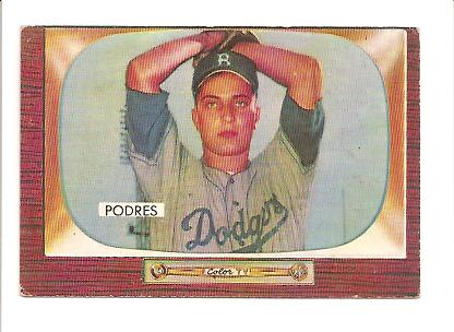 1955 Bowman #97 Johnny Podres