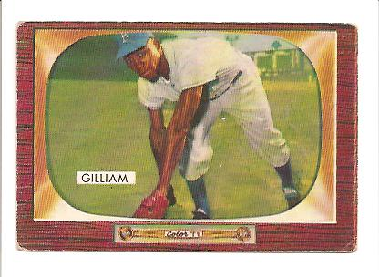 1955 Bowman #98 Jim Gilliam