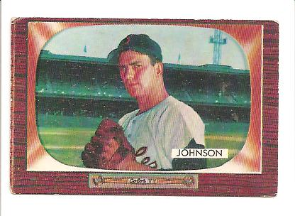 1955 Bowman #101B Don Johnson COR Orioles