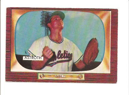 1955 Bowman #119 Joe Astroth