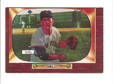 1955 Bowman #125 Paul Giel RC
