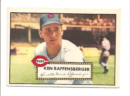 1952 Topps #118 Ken Raffensberger