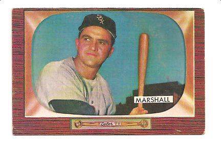 1955 Bowman #131 Willard Marshall