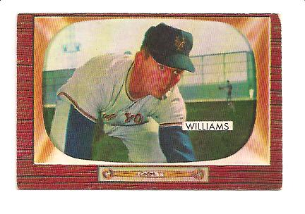1955 Bowman #138 Davey Williams