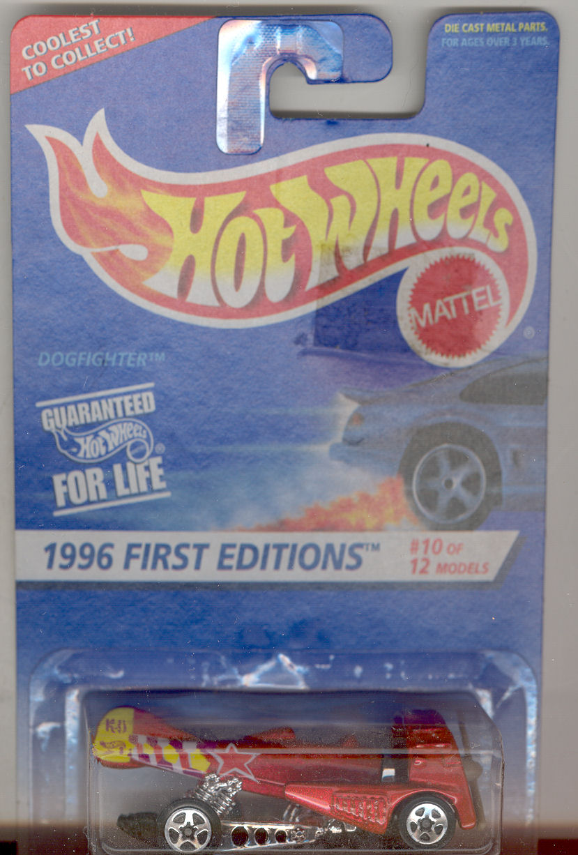 1998 Hot Wheels Mattel, First Edition #10 of 12 Escort Rally #375
