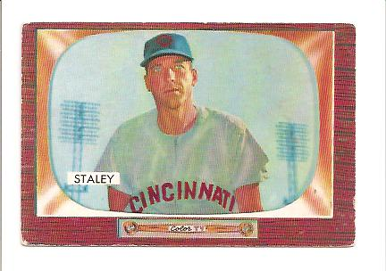 1955 Bowman #155 Gerry Staley