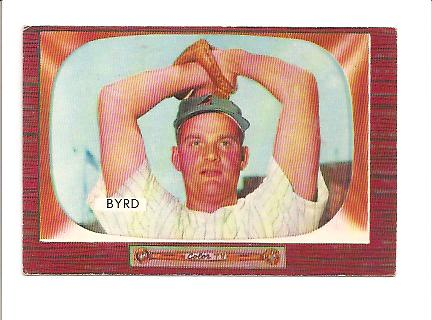 1955 Bowman #159 Harry Byrd