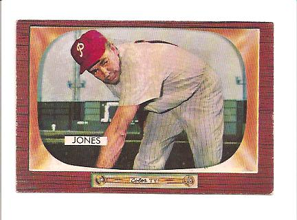 1955 Bowman #172 Willie Jones
