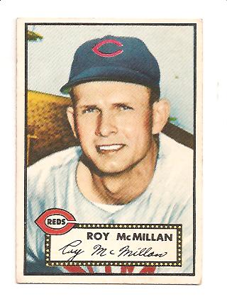 1952 Topps #137 Roy McMillan RC