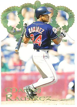 1995 Pacific Gold Crown Die Cuts #8 Manny Ramirez