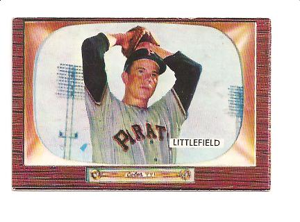 1955 Bowman #200 Dick Littlefield