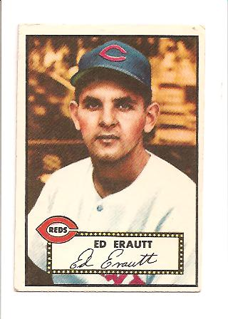 1952 Topps #171 Ed Erautt RC