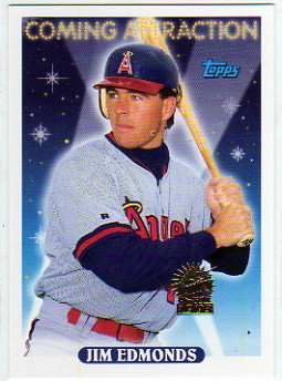 1993 Topps Inaugural Marlins #799 Jim Edmonds