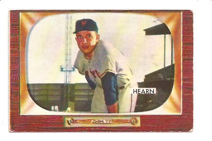 1955 Bowman #220 Jim Hearn