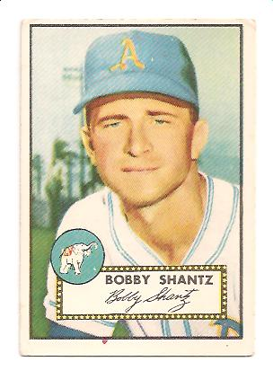 1952 Topps #219 Bobby Shantz