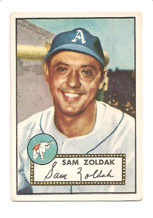 1952 Topps #231 Sam Zoldak