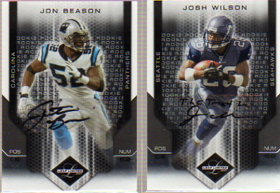 2007 Leaf Limited #266 Josh Wilson AU RC