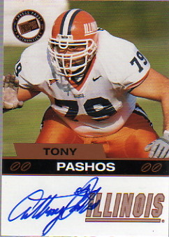 2003 Press Pass Autographs Bronze #43 Tony Pashos